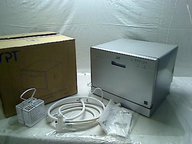 Details about SPT Countertop Dishwasher, Silver