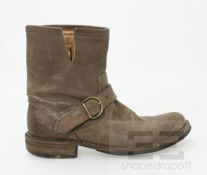 fiorentini baker brown distressed leather s