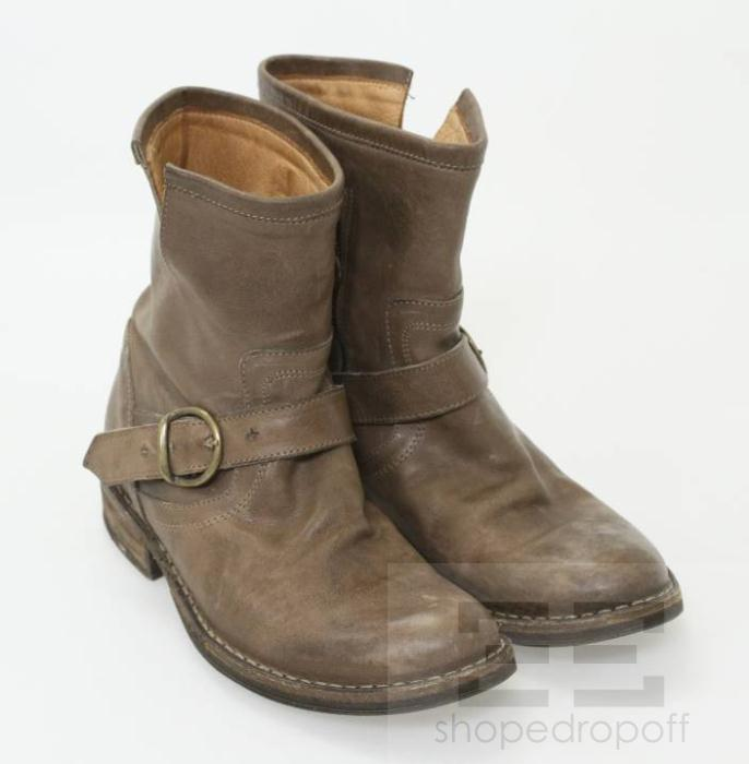 Cool Women39s Xelement Classic Harness Distressed Brown MotorcycleBoots