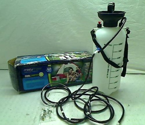 Portable Misting Machines : Mistymate cool camper portable campsite misting kit