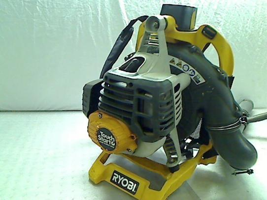 Electric Backpack Blower : Ryobi electric start backpack leaf blower tadd ebay