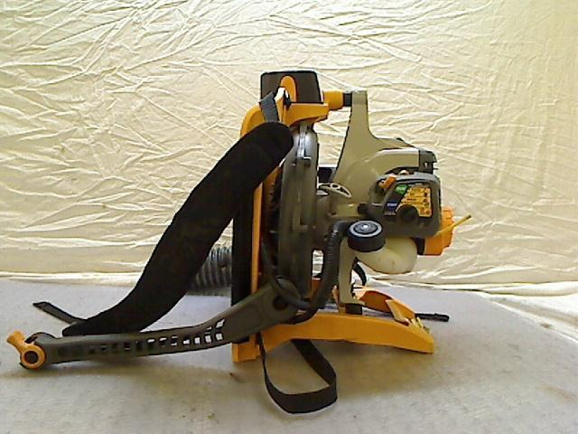 Electric Backpack Blower : Ryobi electric start gas backpack leaf blower tadd ebay