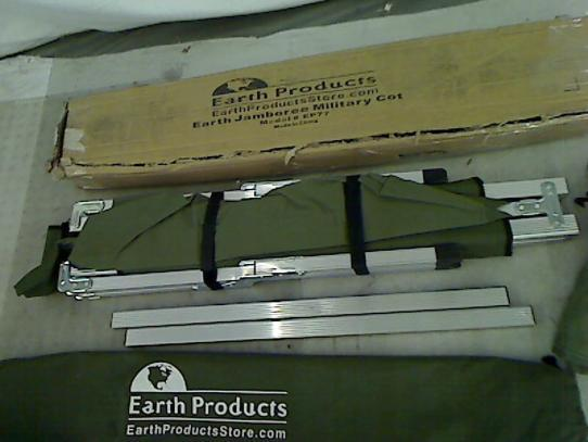 Earth Products Jamboree Military Style Folding Cot