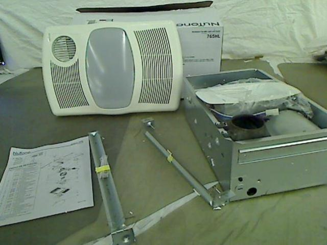 NuTone 100 CFM Ceiling Exhaust Bath Fan With Light And