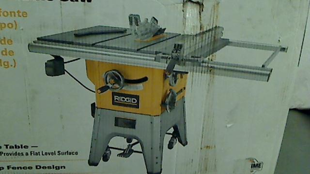 Ridgid 10 in 13 amp professional table saw tadd for 13 amp table saw