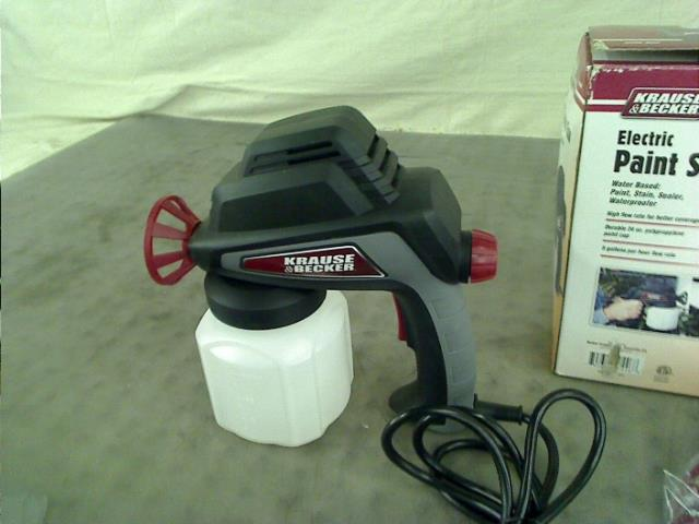krause becker electric paint spray gun 60446