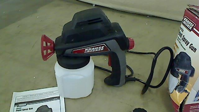 krause becker electric paint spray gun 60446 ebay
