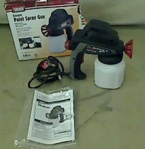details about krause becker electric paint spray gun 60446. Black Bedroom Furniture Sets. Home Design Ideas