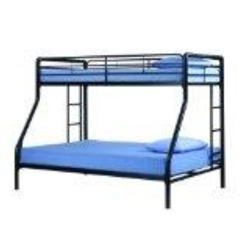 Dhp Twin Over Futon Bunk Bed Black On Popscreen