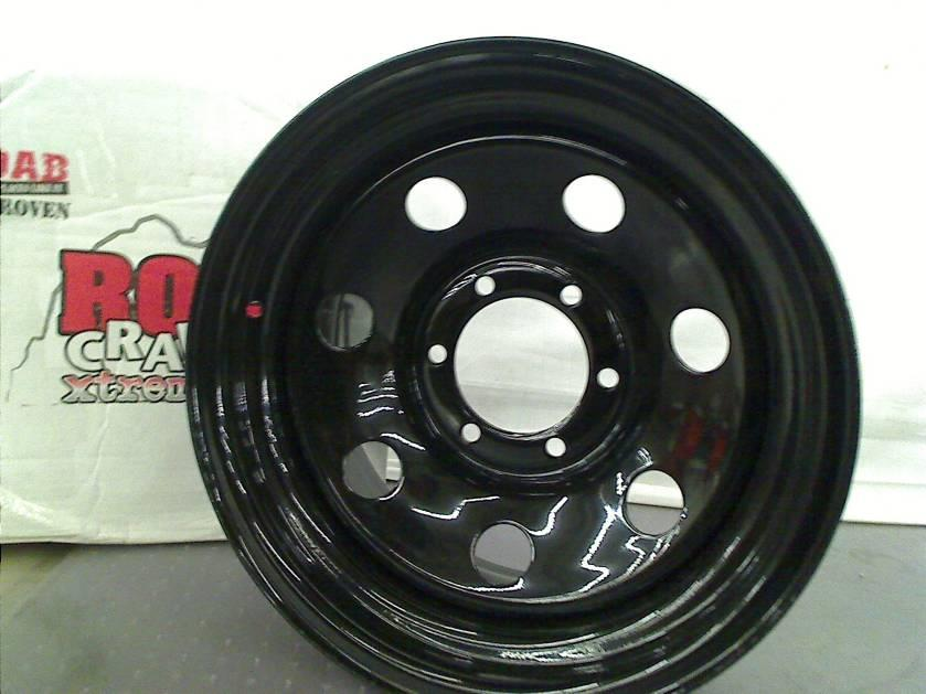 "Pro Comp 87 Gloss Black Wheel 16x8"" 6x5 5"""