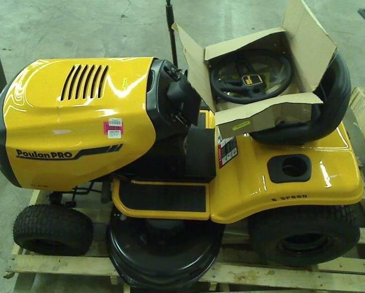 Poulan Pro Pb17542lt 17 5 Hp 6 Speed Lawn Tractor 42 Inch