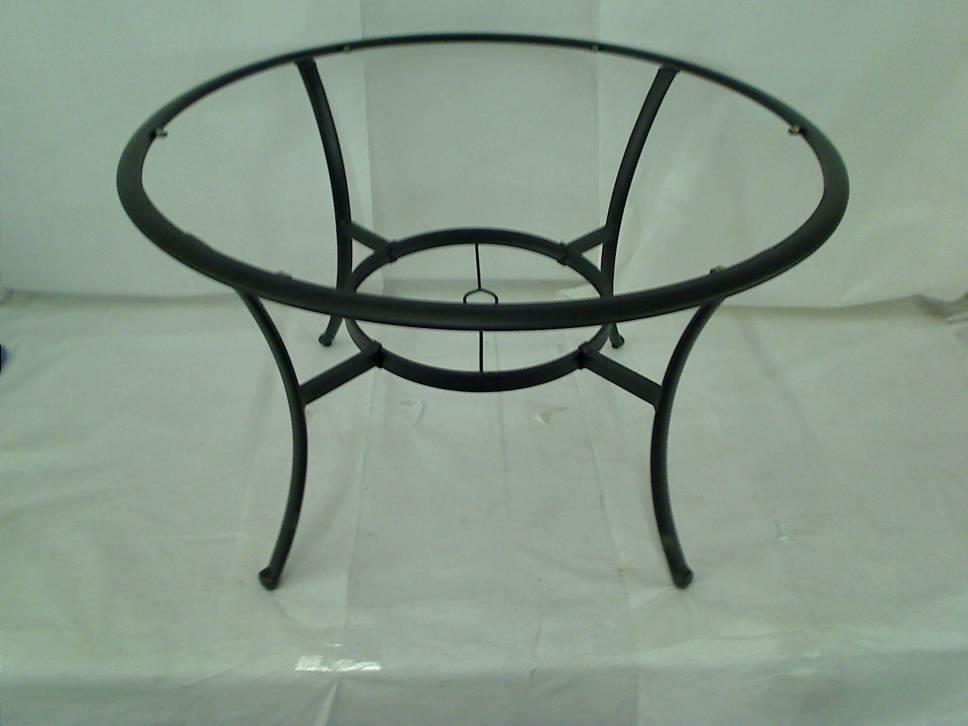 Hampton Bay Fall River Patio Dining Chairs Table Frame No Glass 499 00 Ebay