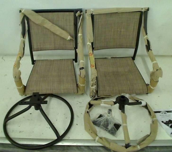 Hampton Bay Andrews Patio Bistro Chairs Chairs Only Ebay