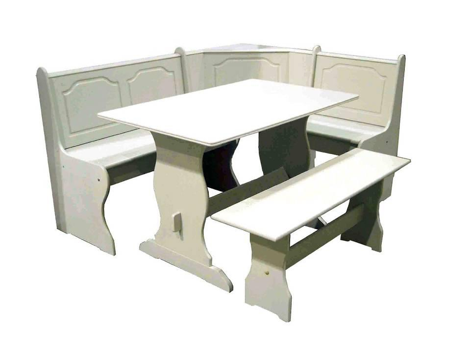 nook dining set white gallery