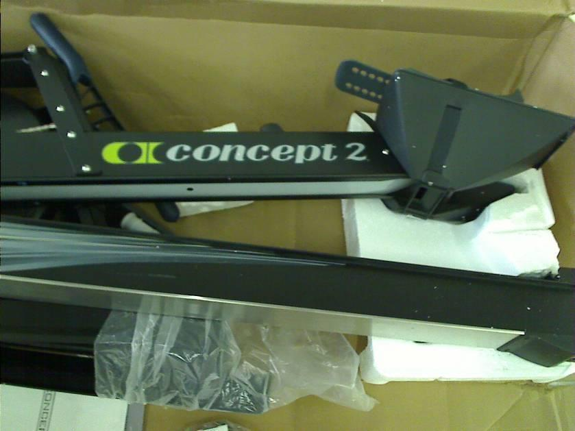 concept2 model d indoor rowing machine with pm3 black
