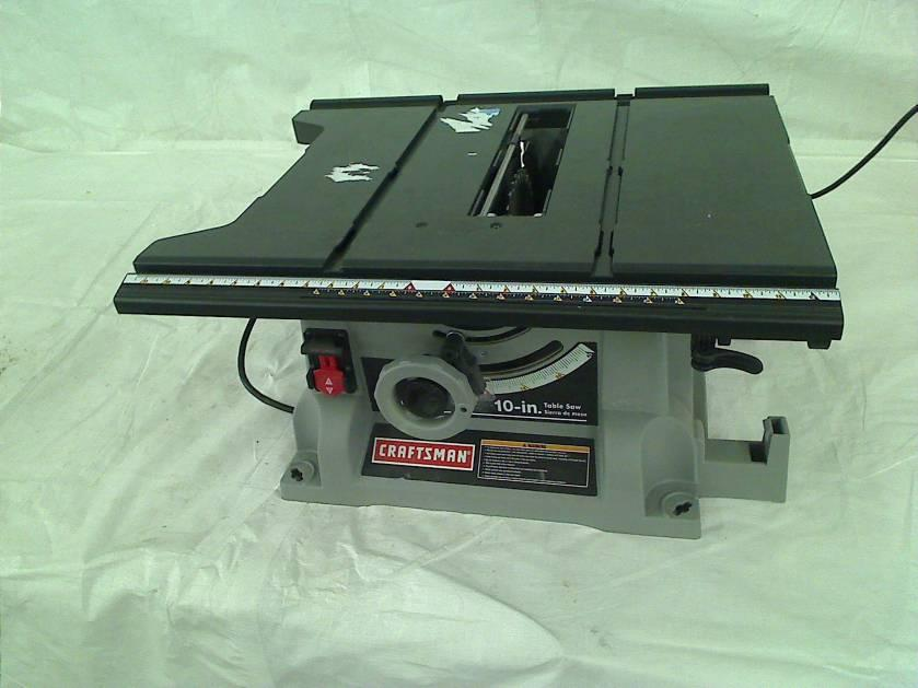 Craftsman 10 Portable Table Saw Ebay
