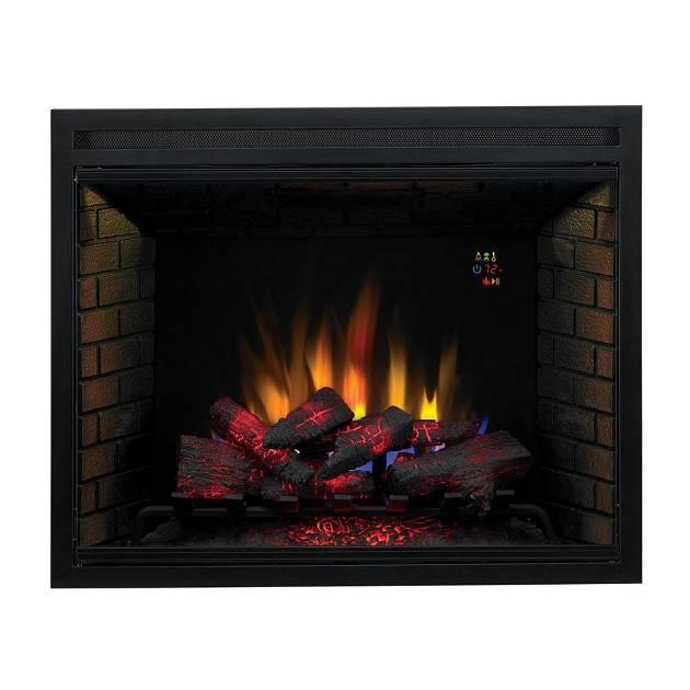 Spectrafire Builder 39 S 39 In Vent Free Electric Fireplace Insert With Fixed Door