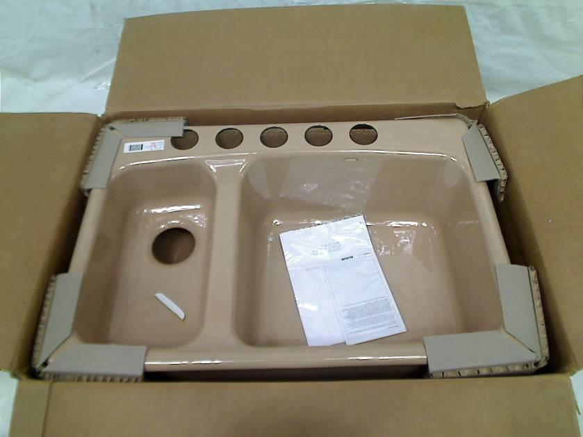 Details About KOHLER Lakefield Undercounter Sink With Installation Kit .