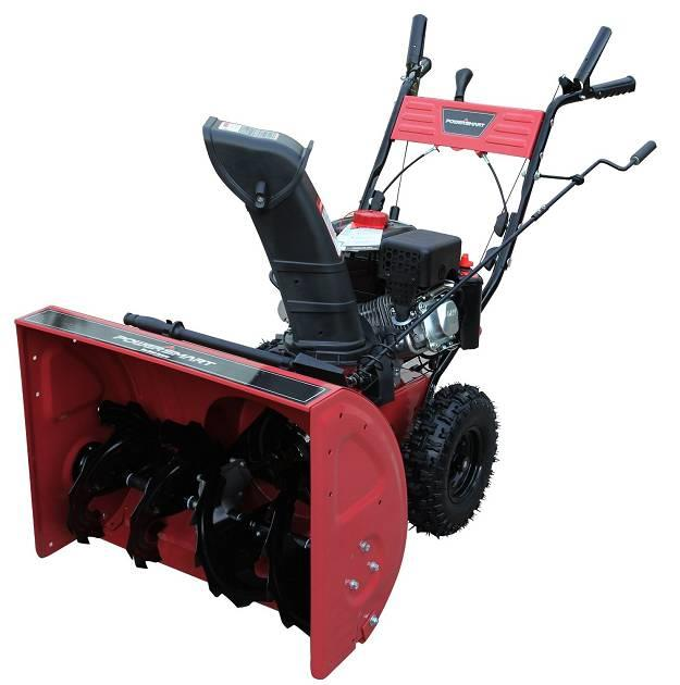 Power Smart Snow Blower : Power smart db quot cc lct gas powered stage snow
