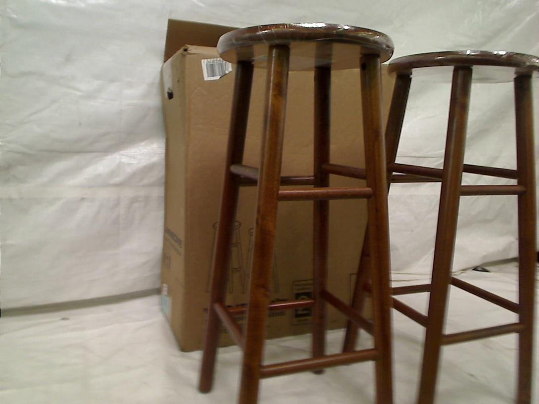 Winsome Wood Assembled 30 Inch Cherry Finish Bar Stools