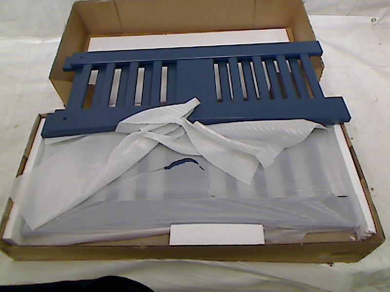 Stork craft caribou bunk bed navy box 1 of 2 only ebay for Stork craft caribou bunk bed