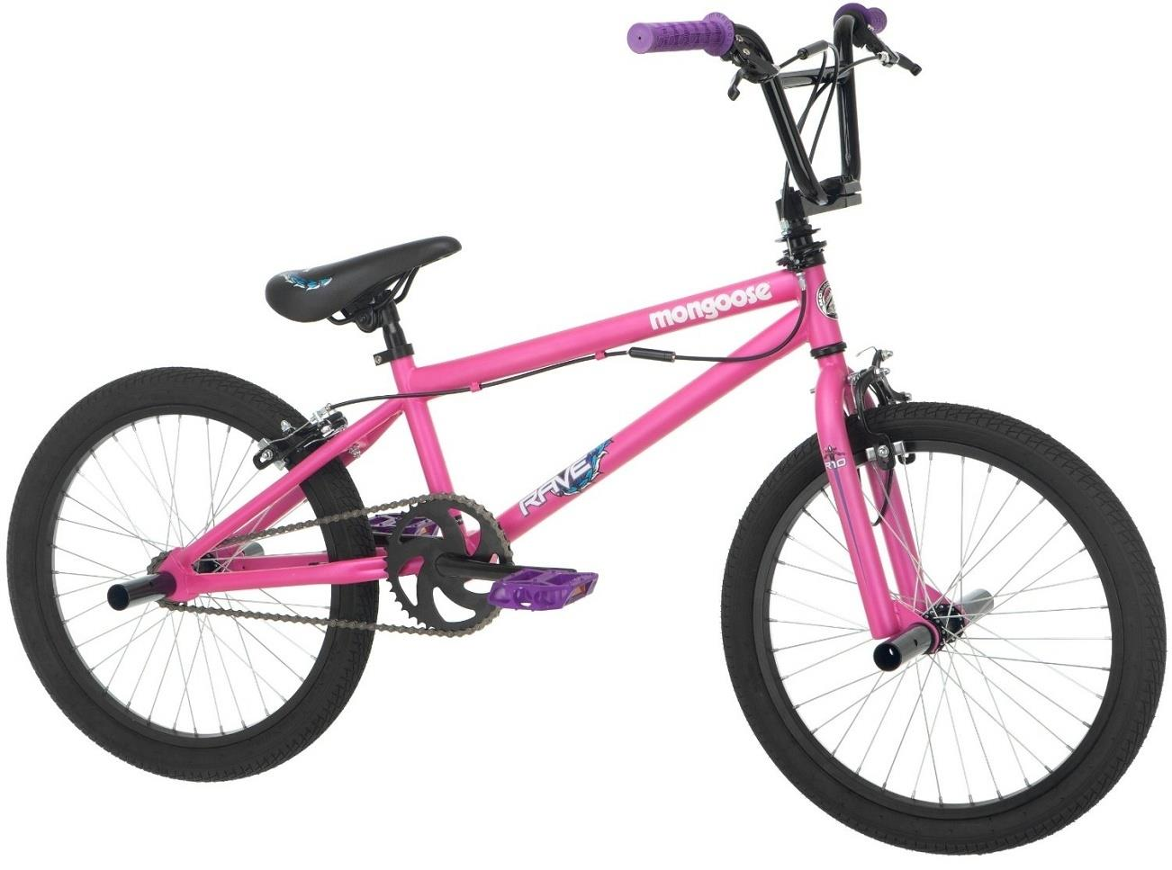 Mongoose Girl's Rave R10 Freestyle Bike, 20-Inch, Matte ...