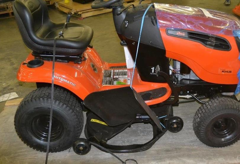 ariens 42 in 19 hp kohler automatic gas front engine riding mower ebay. Black Bedroom Furniture Sets. Home Design Ideas
