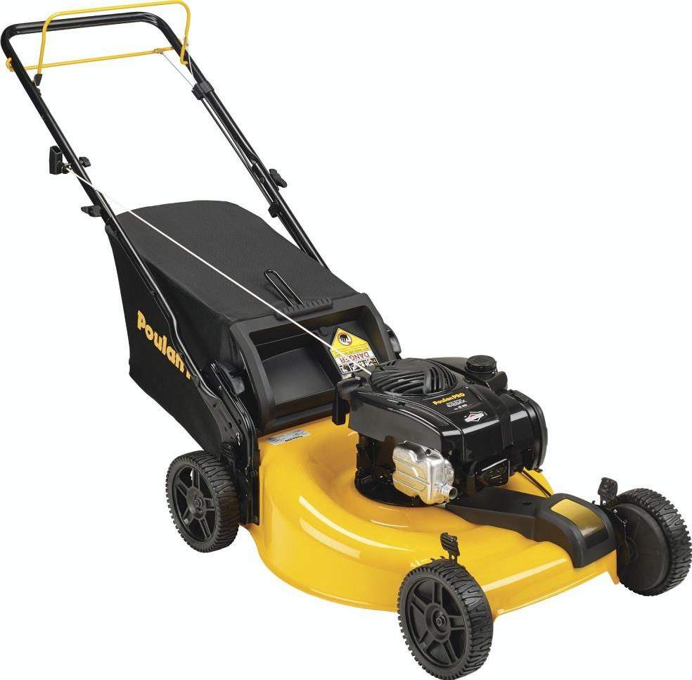 Poulan Pro Pr625y22rp 2 In 1 Mulch And Rear Bag Push Lawn