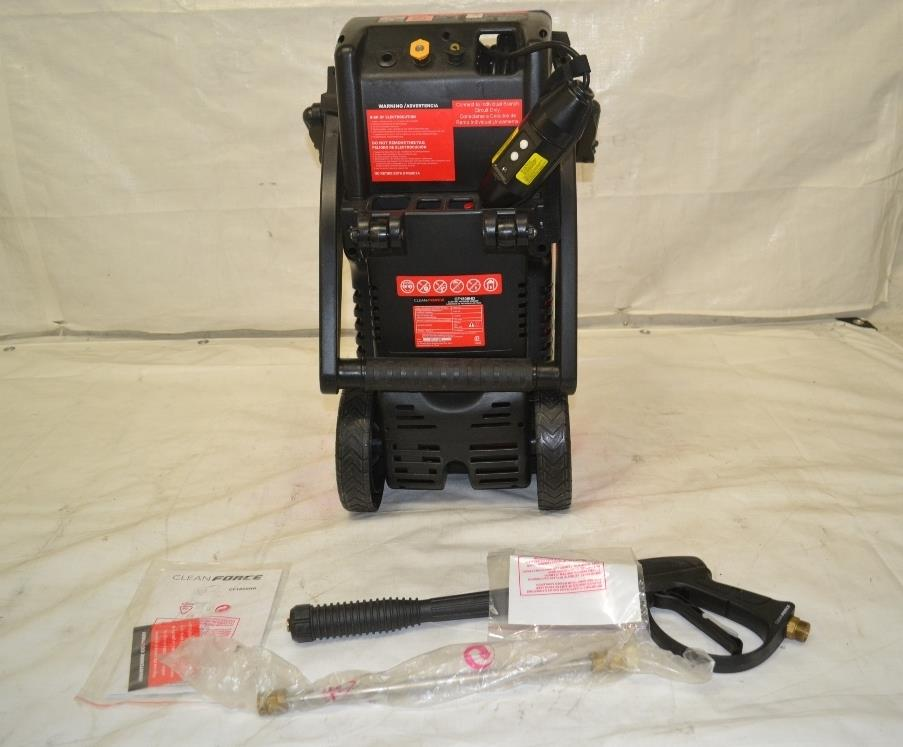 Cleanforce 1800 Psi 1 5 Gpm Heavy Duty Axial Cam Electric