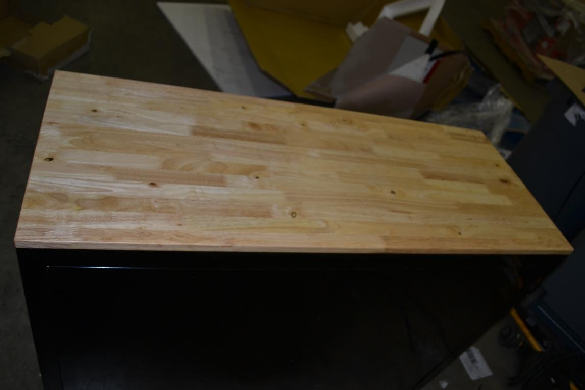 Project Me Learn Mobile Workbench With Solid Wood Top