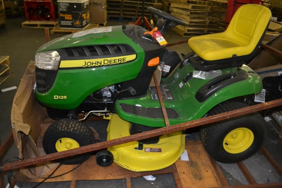 John Deere D125 42 In 20 Hp Hydrostatic Front Engine