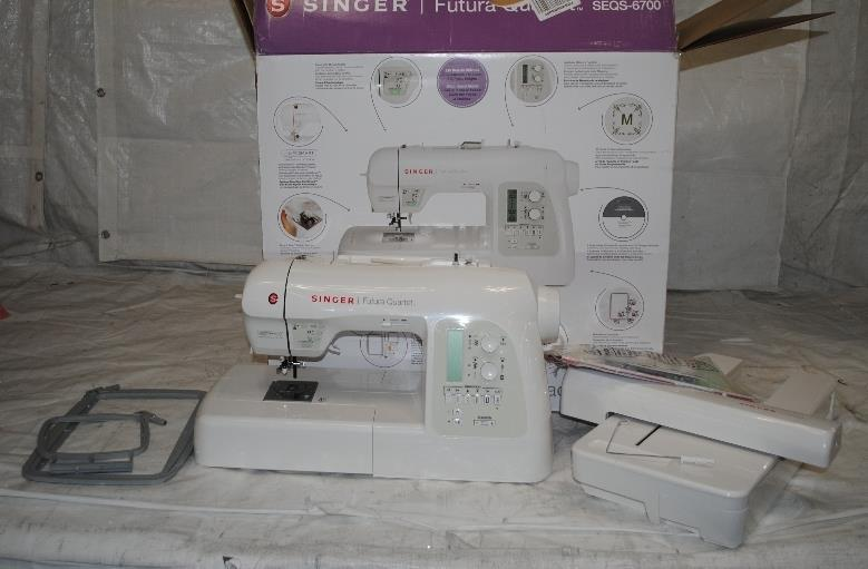 singer futura quartet 4 in 1 sewing machine