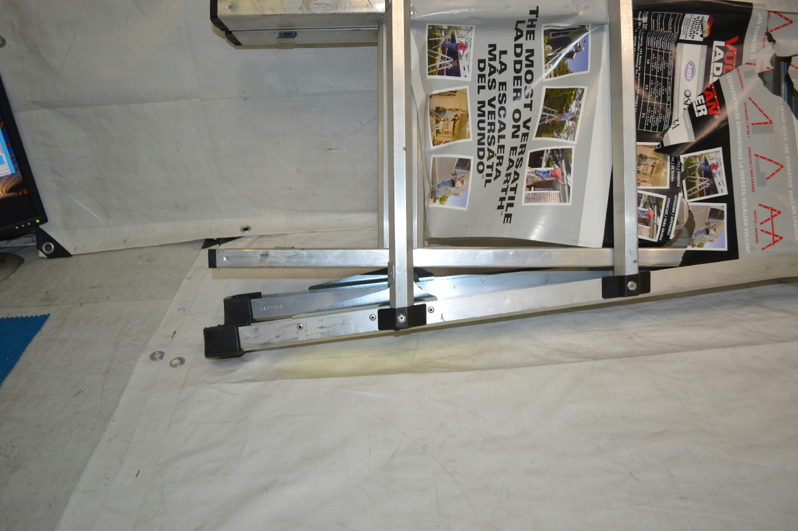 Vulcan Ladder Usa Es 17t11g1 17 Feet Multi Task Ladder Ebay