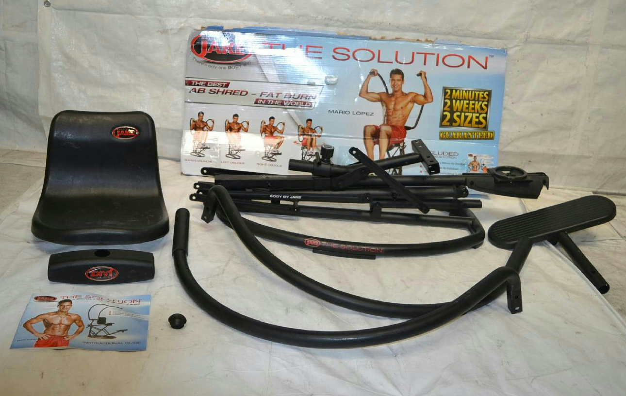 by jake the solution ab machine