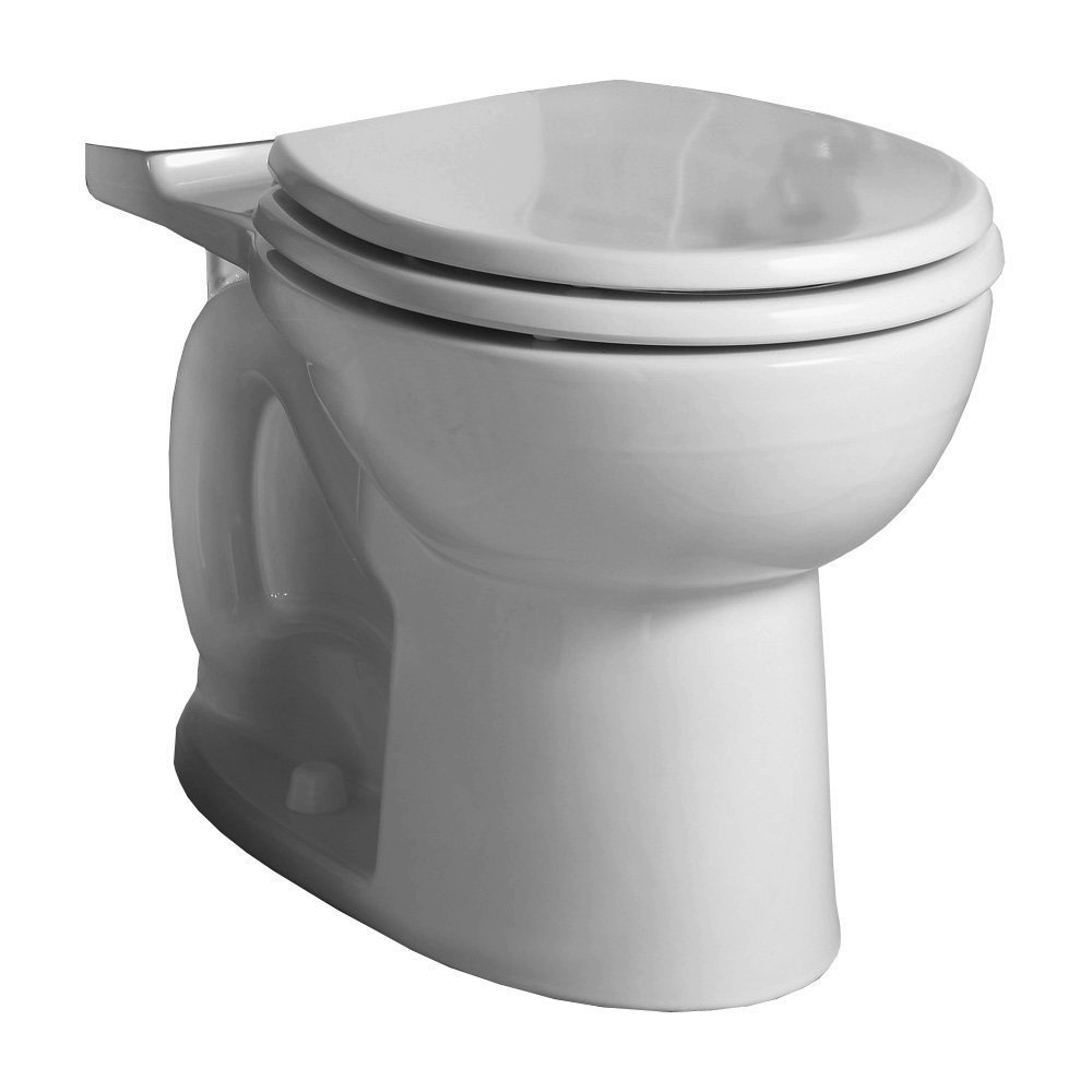 Construction Toilet Bowl : American standard d cadet flowise round front