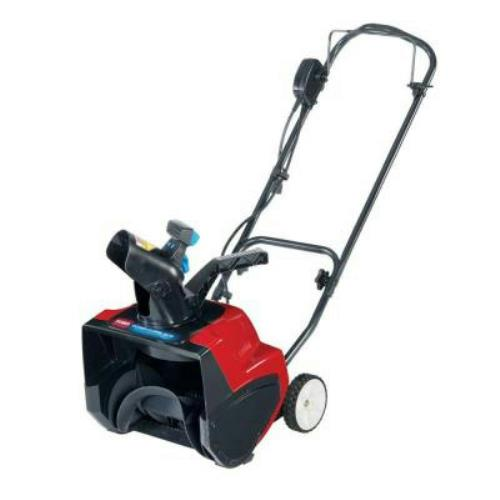 Toro 15 in electric power curve snow blower ebay for Small dc motor home depot