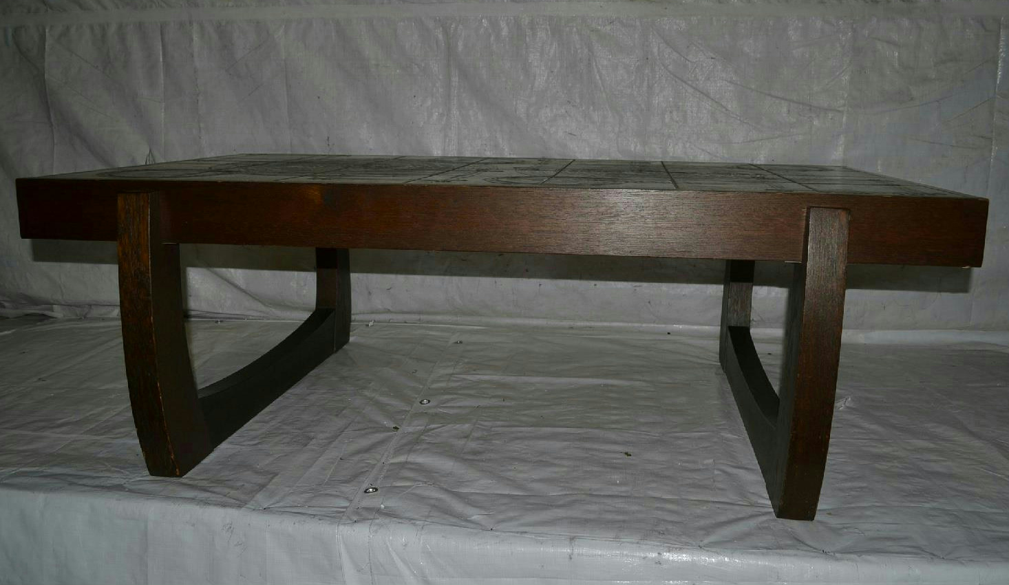 ceramic tile hand painted coffee table ebay
