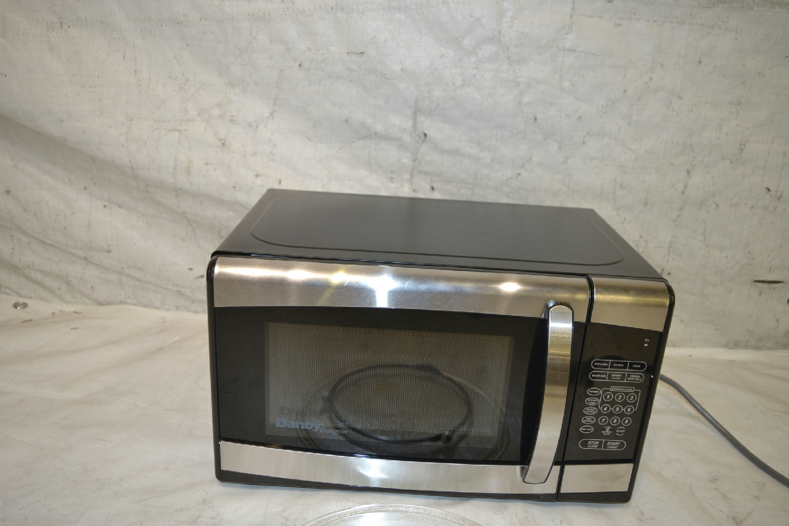 danby designer microwave how to change power level