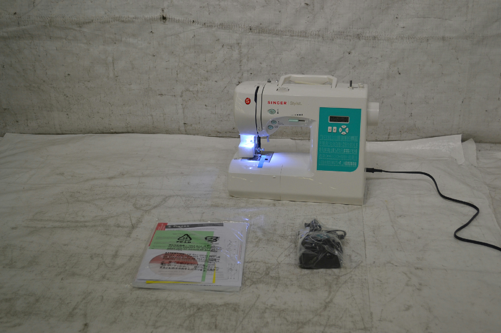 singer 7258 cl electronic 100 stitch stylist sewing machine