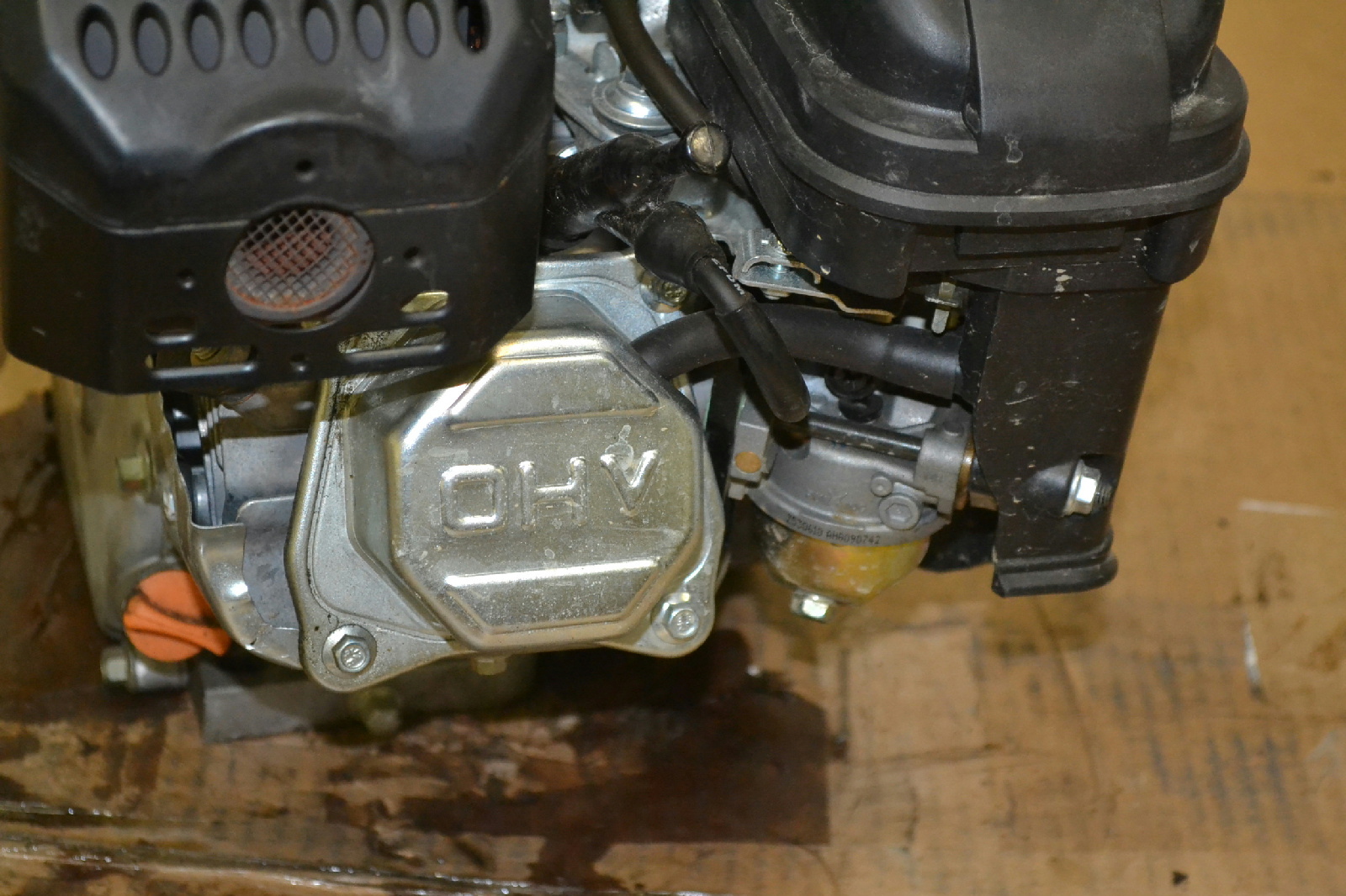 212 cc OHV Horizontal Shaft Gas Engine - Certified for All ...