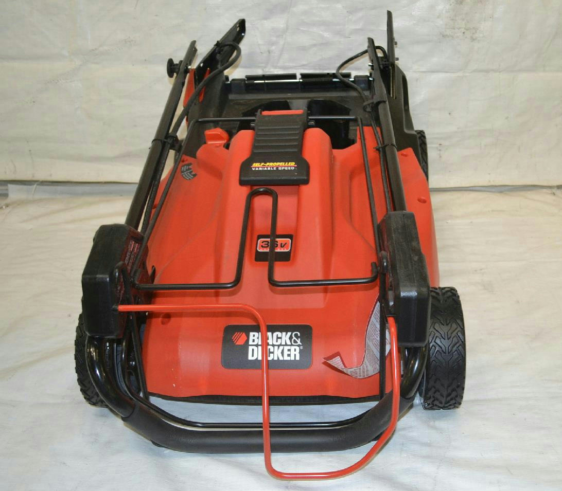 black and decker 36v cordless mower manual