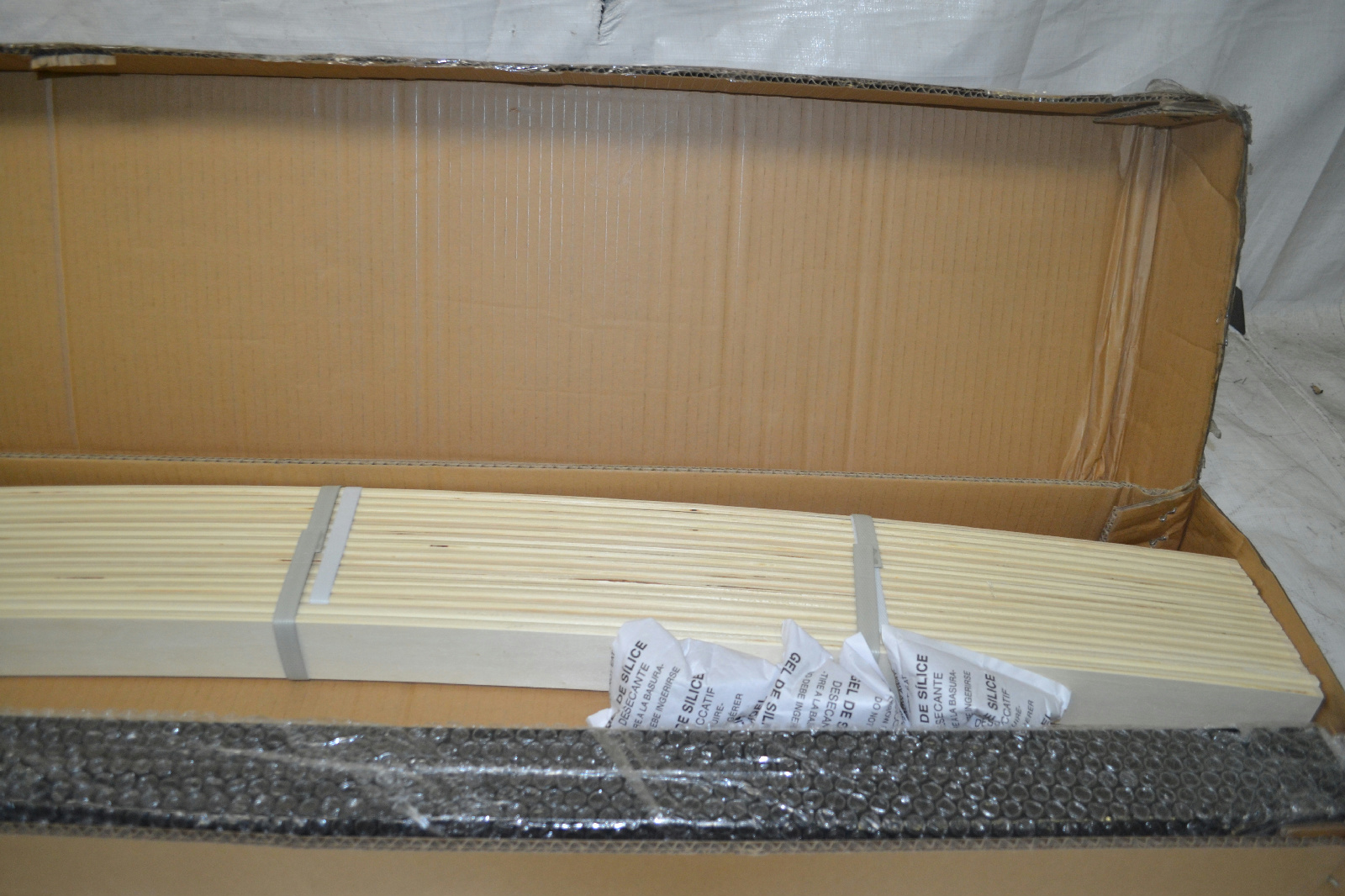 details about handy living wood slat bed frame twin extra large