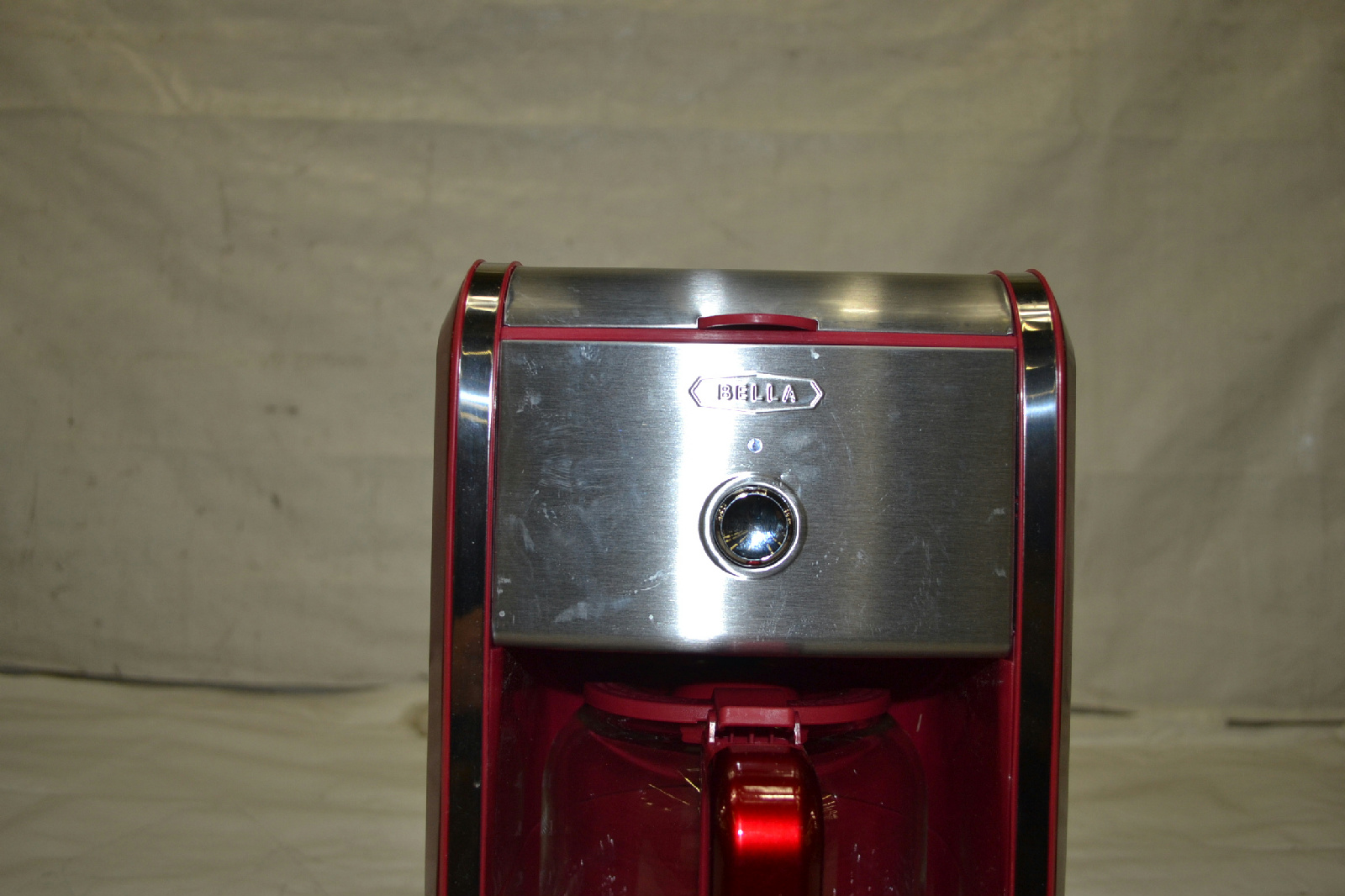 Bella 13839 Dots Collection 12 Cup Programmable Coffee Maker Red eBay