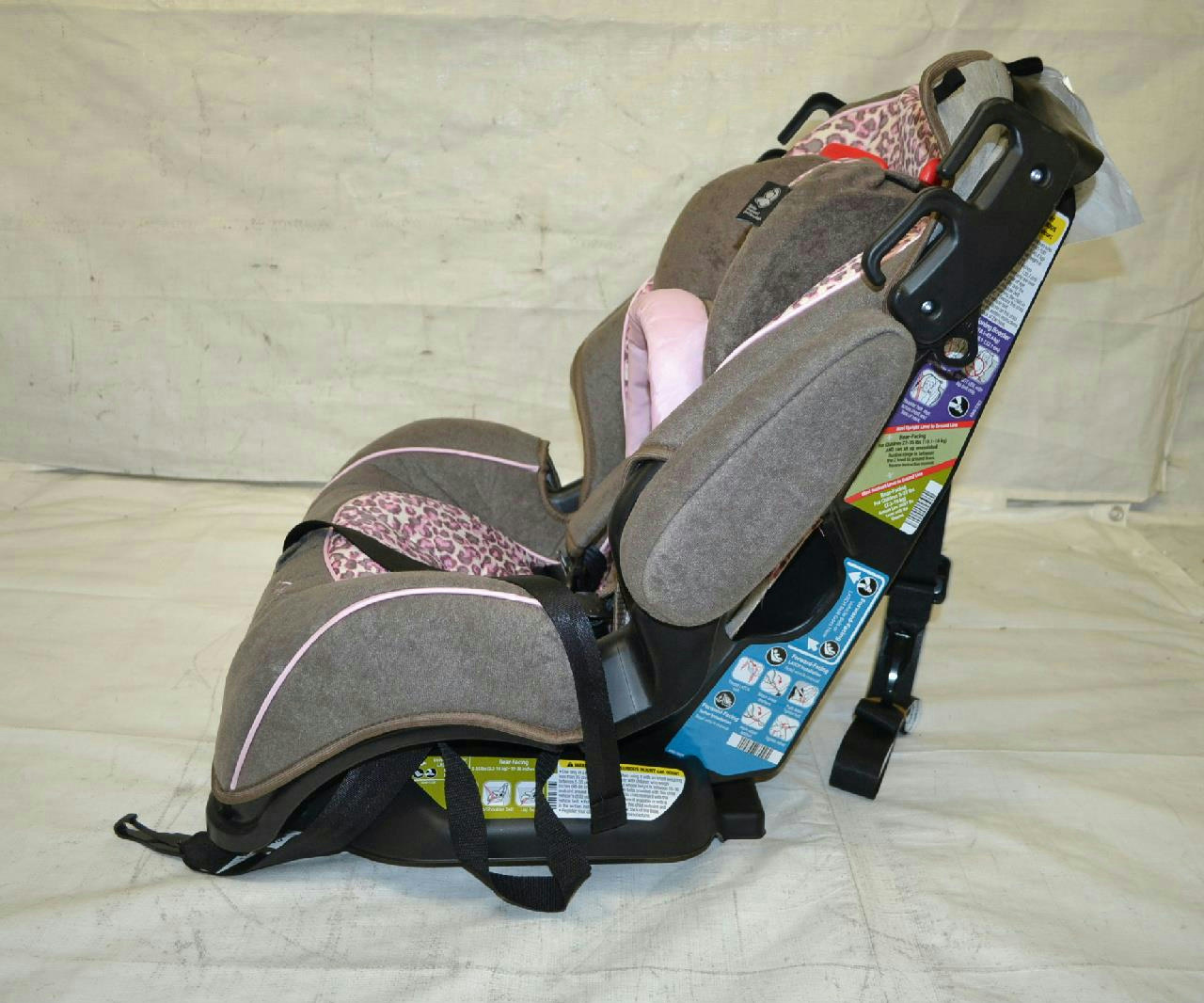 safety 1st alpha omega elite convertible car seat pretty paws ebay. Black Bedroom Furniture Sets. Home Design Ideas
