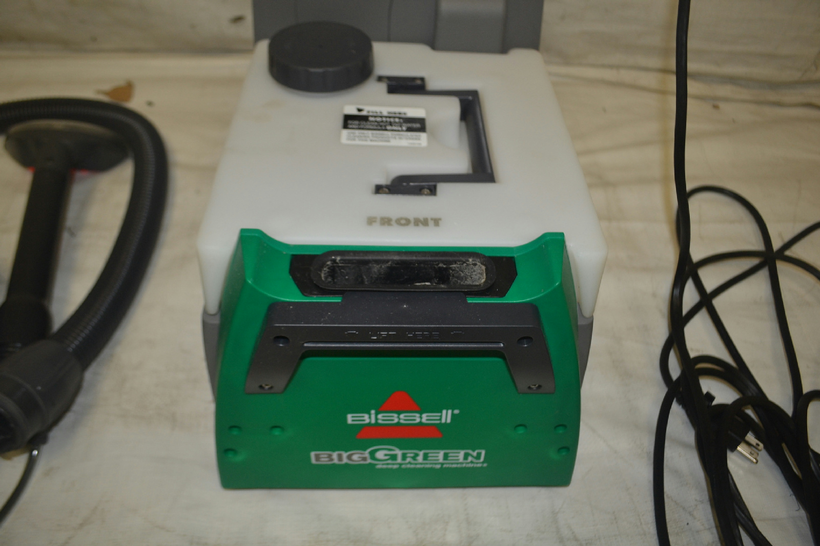 bissell big green cleaning machine professional