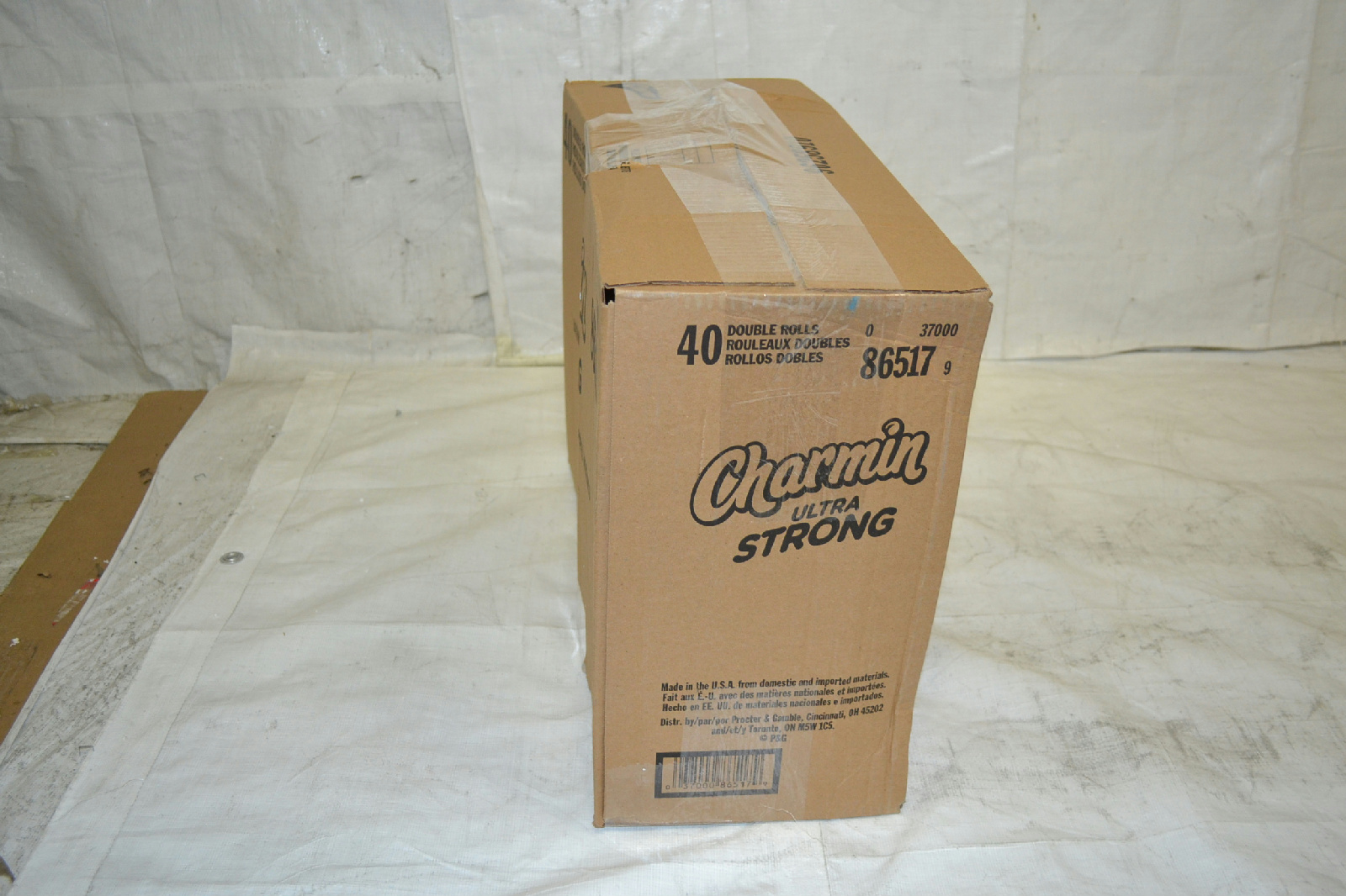 Charmin Ultra Strong Toilet Paper 40 Double Roll 10 Packs