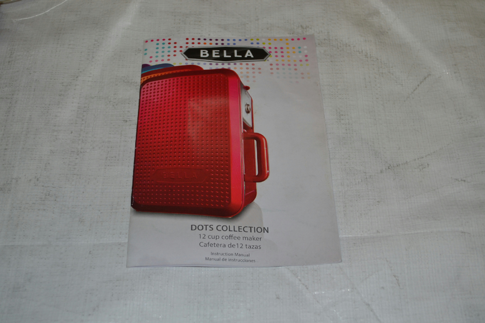 Bella Dots Coffee Maker Red : Bella 13700 Dots Collection 12 Cup Coffee Maker Red eBay