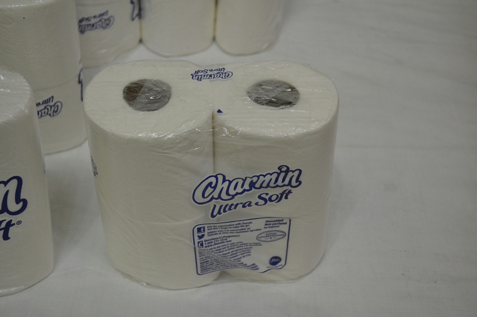 Charmin ultra soft toilet paper 40 double roll 10 packs of for Toilet paper roll jewelry box