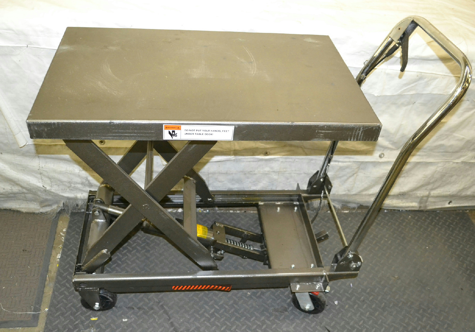1000 lb capacity hydraulic table cart ebay