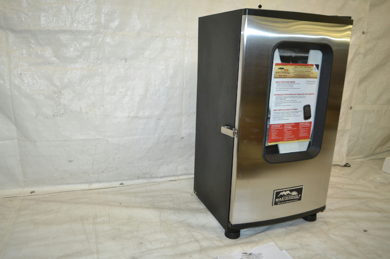 Masterbuilt 20070411 30 In Top Controller Electric Smoker with Window #9E392D